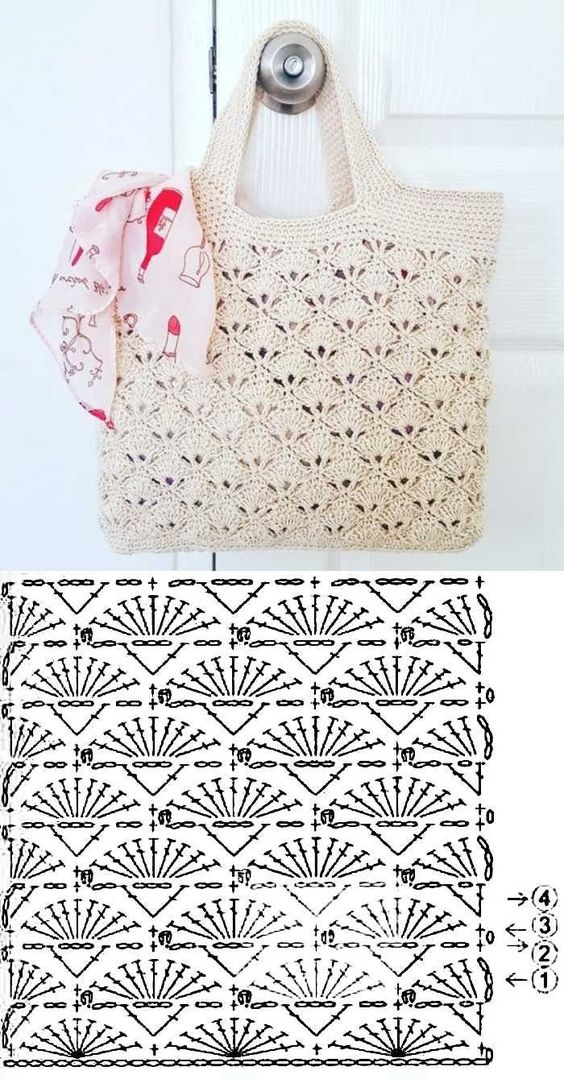 easy crochet bag patterns 2