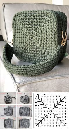 easy crochet bag patterns 4