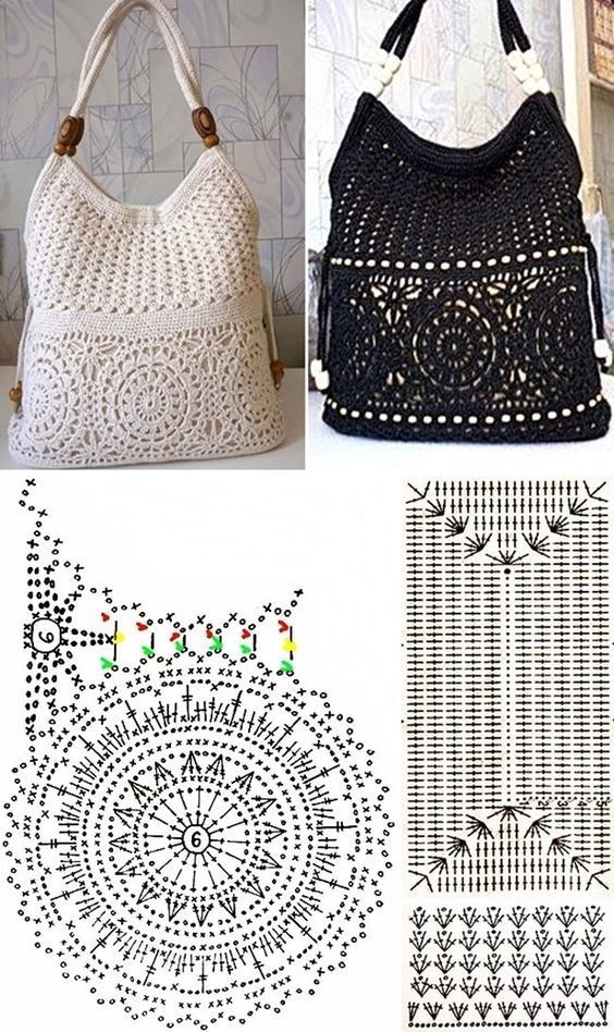 easy crochet bag patterns 5