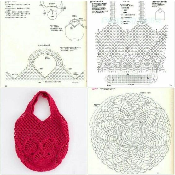 easy crochet bag patterns 9