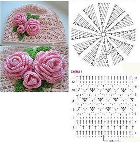 easy crochet hats patterns 1