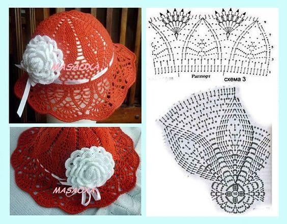 easy crochet hats patterns 10