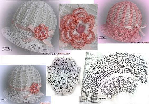 easy crochet hats patterns 11