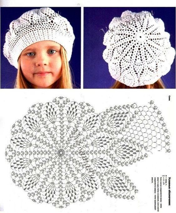 easy crochet hats patterns 3