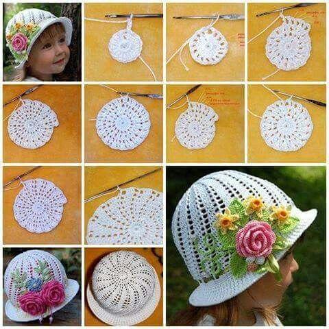 easy crochet hats patterns 5