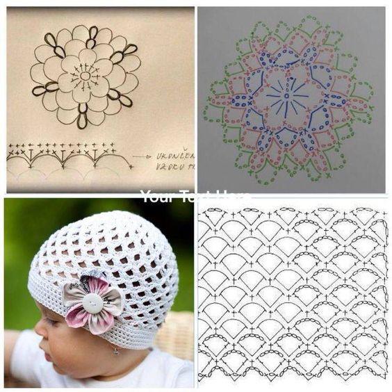 easy crochet hats patterns 7