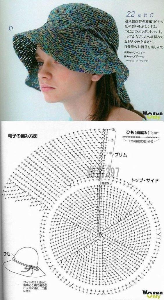 easy crochet hats patterns 8