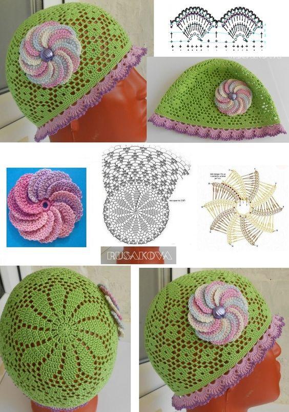 easy crochet hats patterns