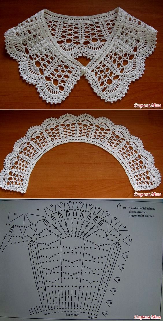 easy crocheted collar patterns 2