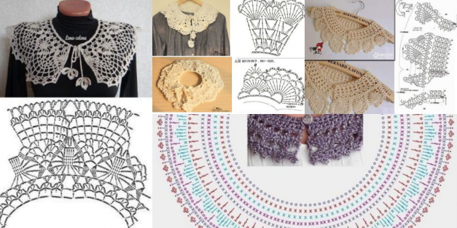 easy crocheted collar patterns