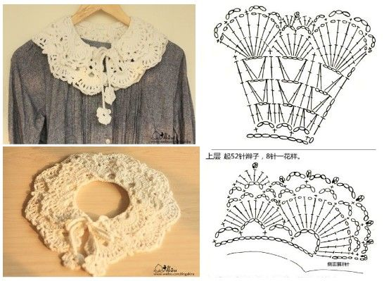 easy crocheted collar patterns 9
