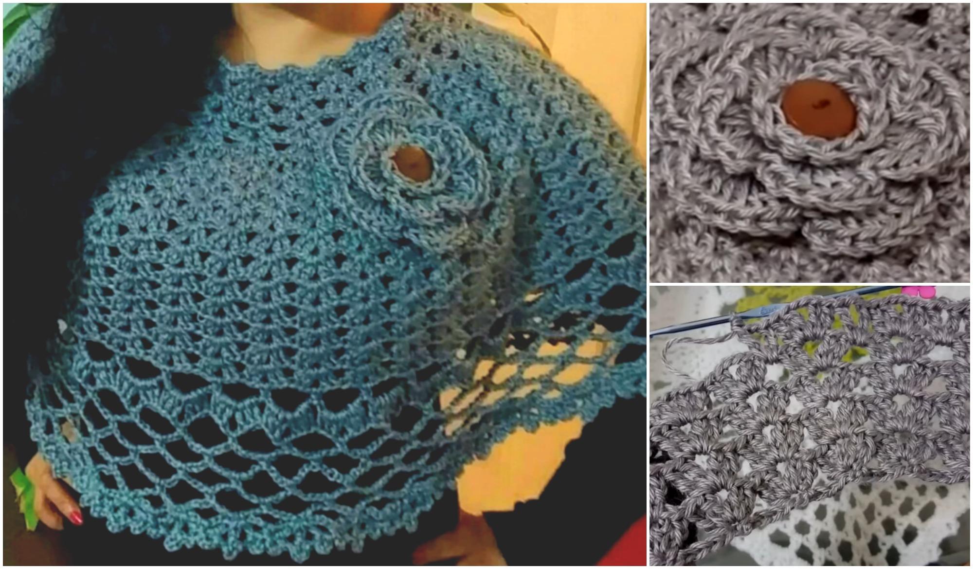 Crochet Easy and Elegant Poncho