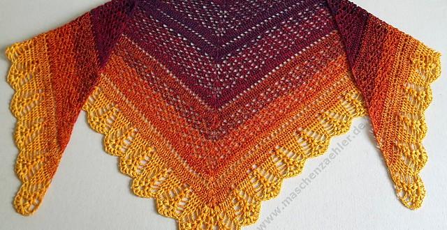 erigeneia crochet shawl