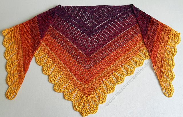 Erigeneia Crochet Shawl Free Pattern