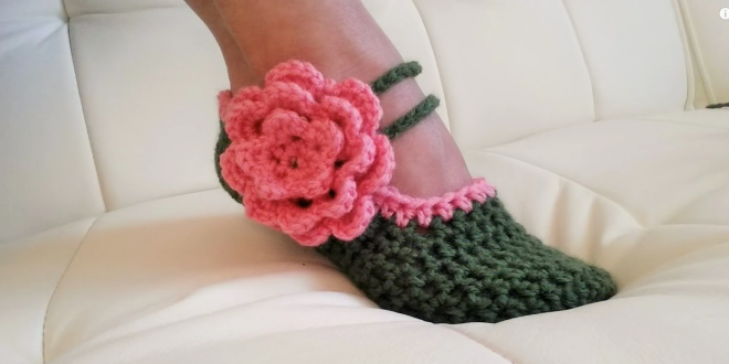 fancy mary janes shoes crochet