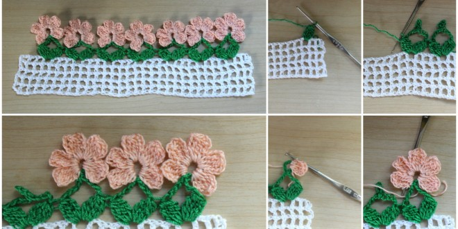 flower border crochet
