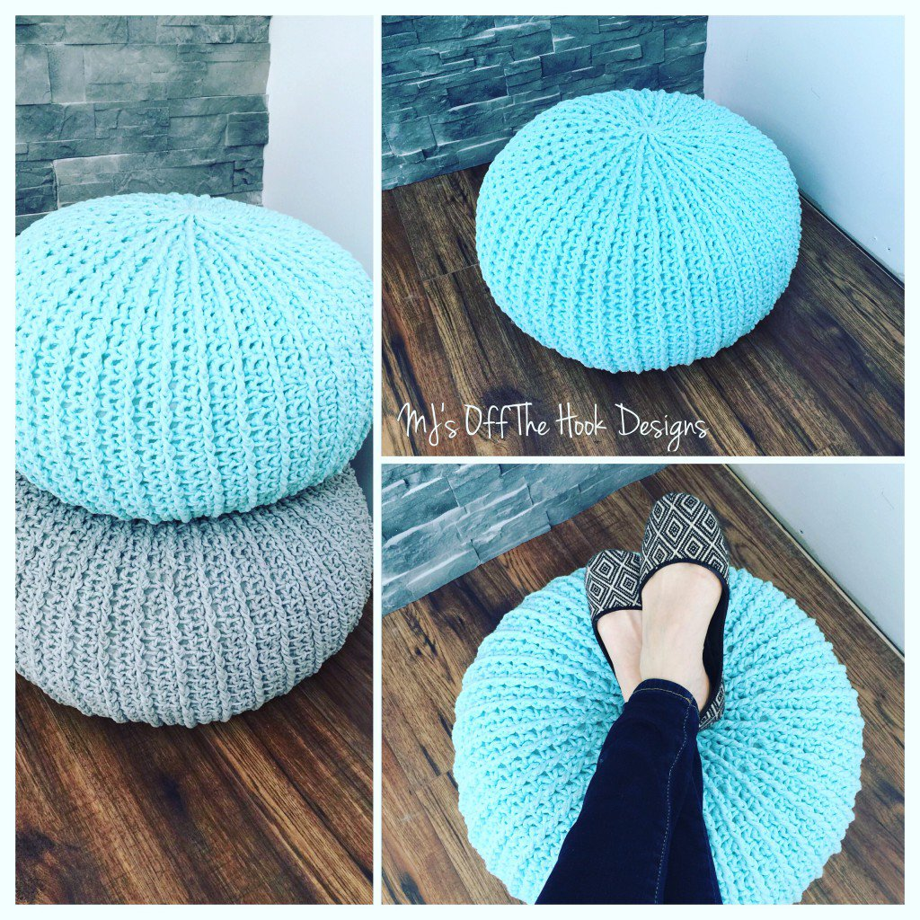 free-crochet-floor-pouf
