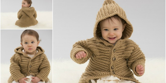 hooded playful cardi