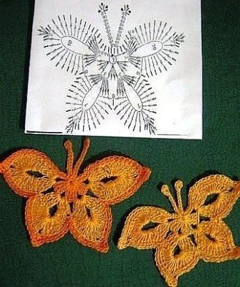 how to crochet a butterfly step by step 7