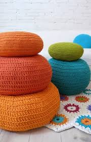 how to crochet a floor pouf 9