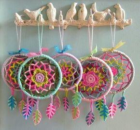 how to crochet easy mandala 1