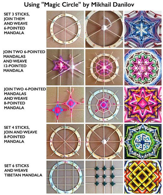 how to crochet easy mandala 4