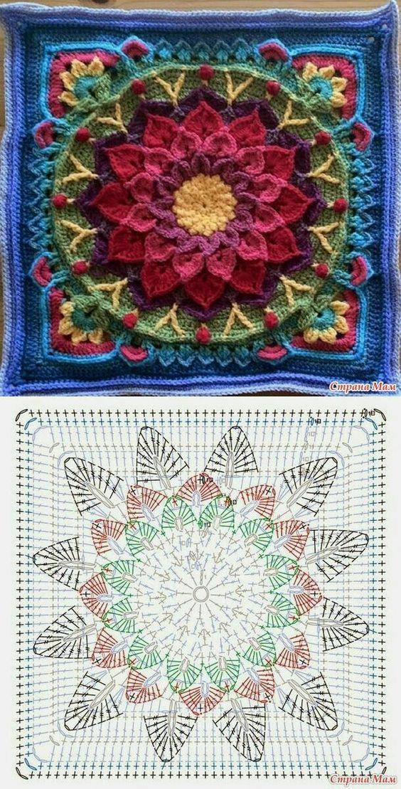 how to crochet easy mandala 5