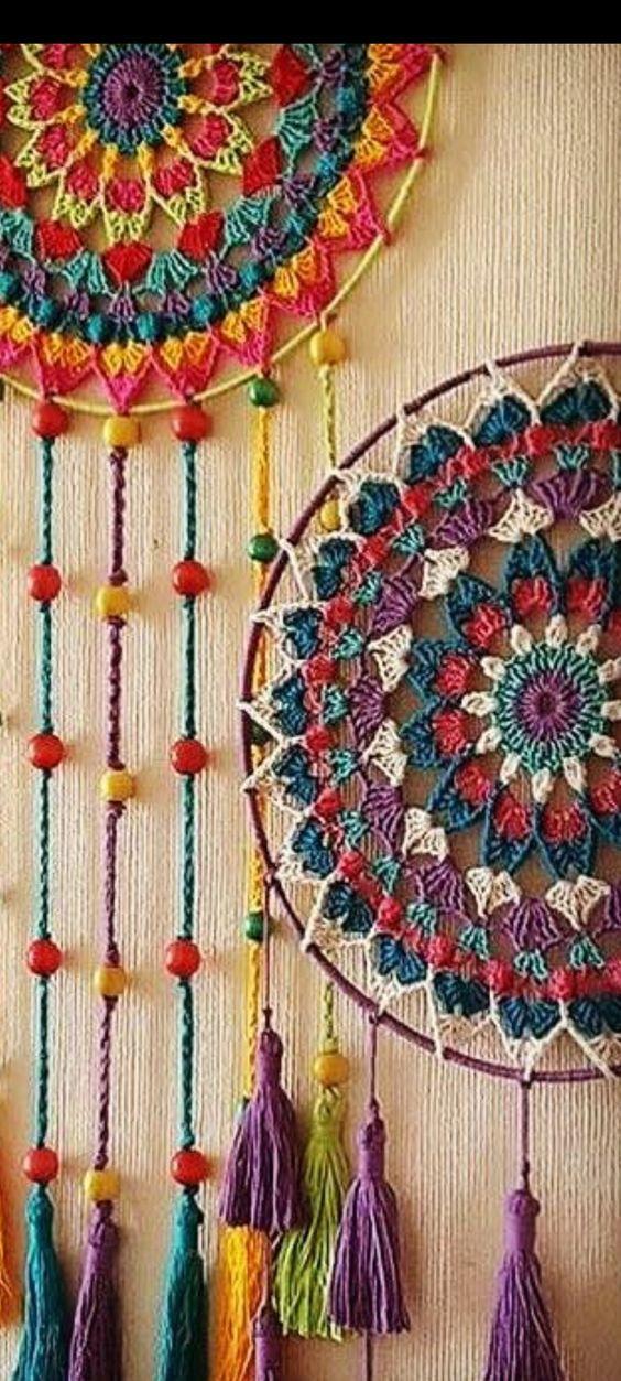 how to crochet easy mandala 7