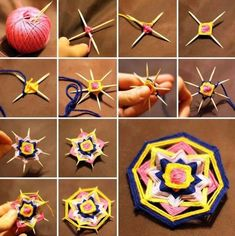 how to crochet easy mandala