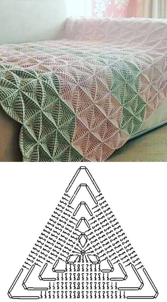 how to crochet the blanket stitch 6