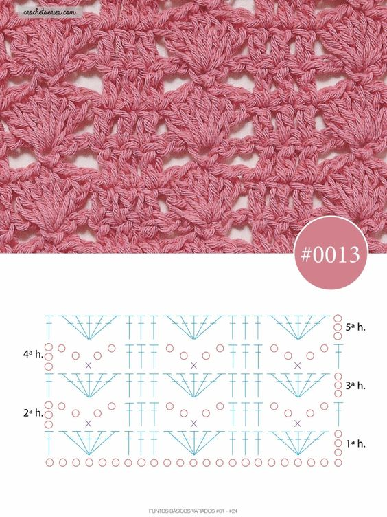 how to crochet the blanket stitch 7