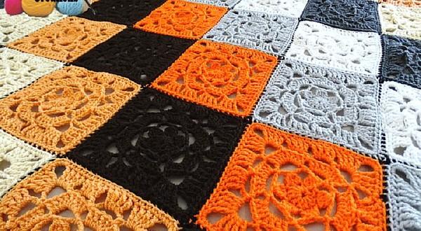 lacy flower crochet