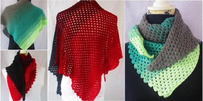 miliano crochet shawl
