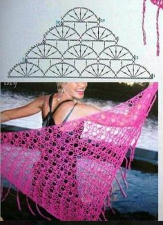pattern crochet shawl 4