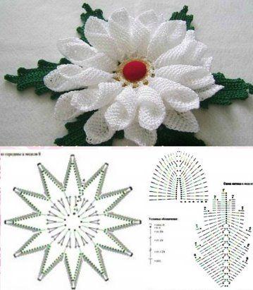 pinwheel doily pattern crochet 3