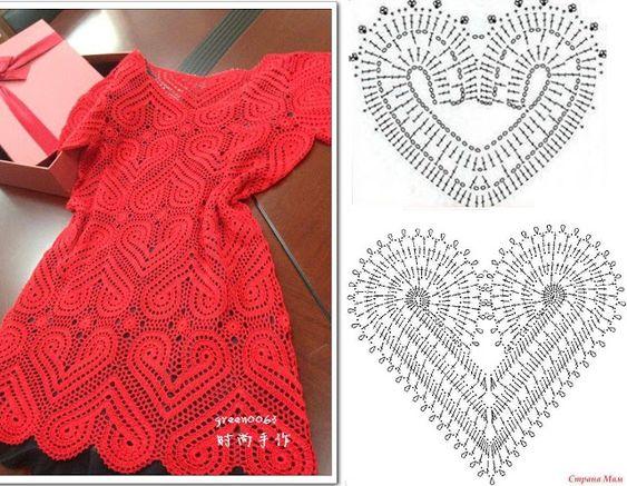 pretty short crochet dresses patterns 1