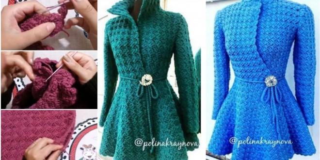 princess crochet cardigan