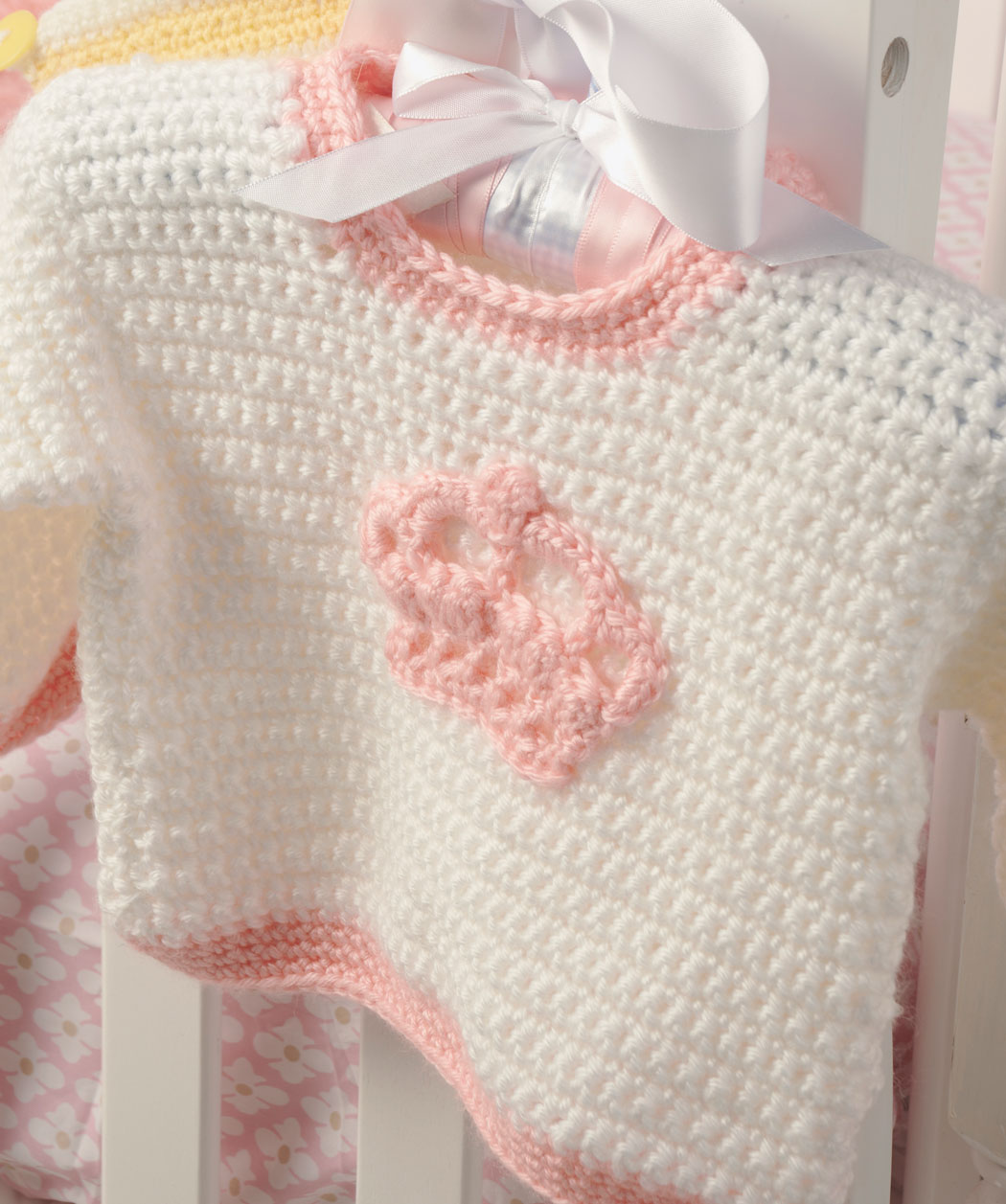 How to Crochet Little Princess Sweater (FREE PATTERN + VIDEO)