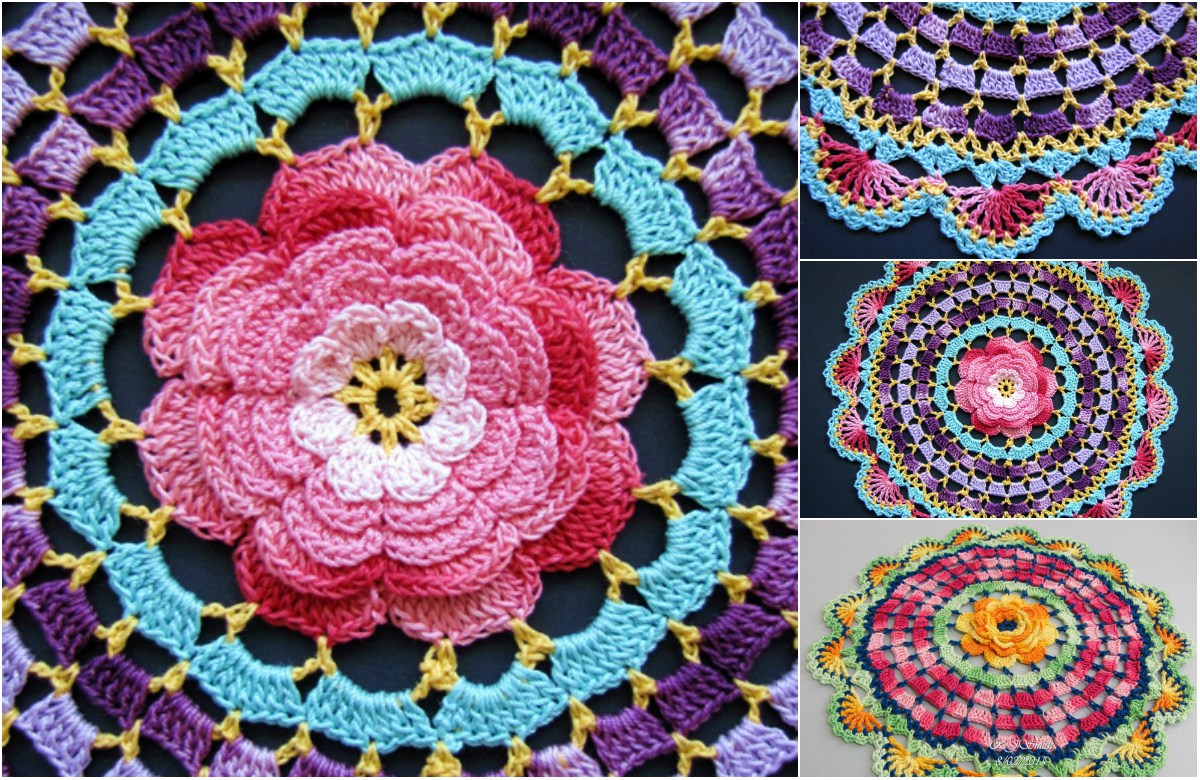 radiant-rose-mandala-crochet