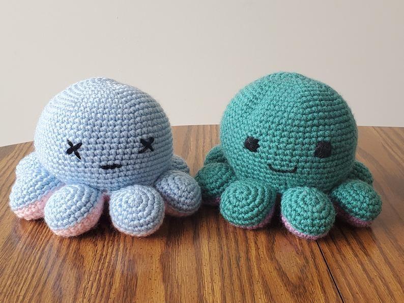 reversible crochet octopus tutorial 3