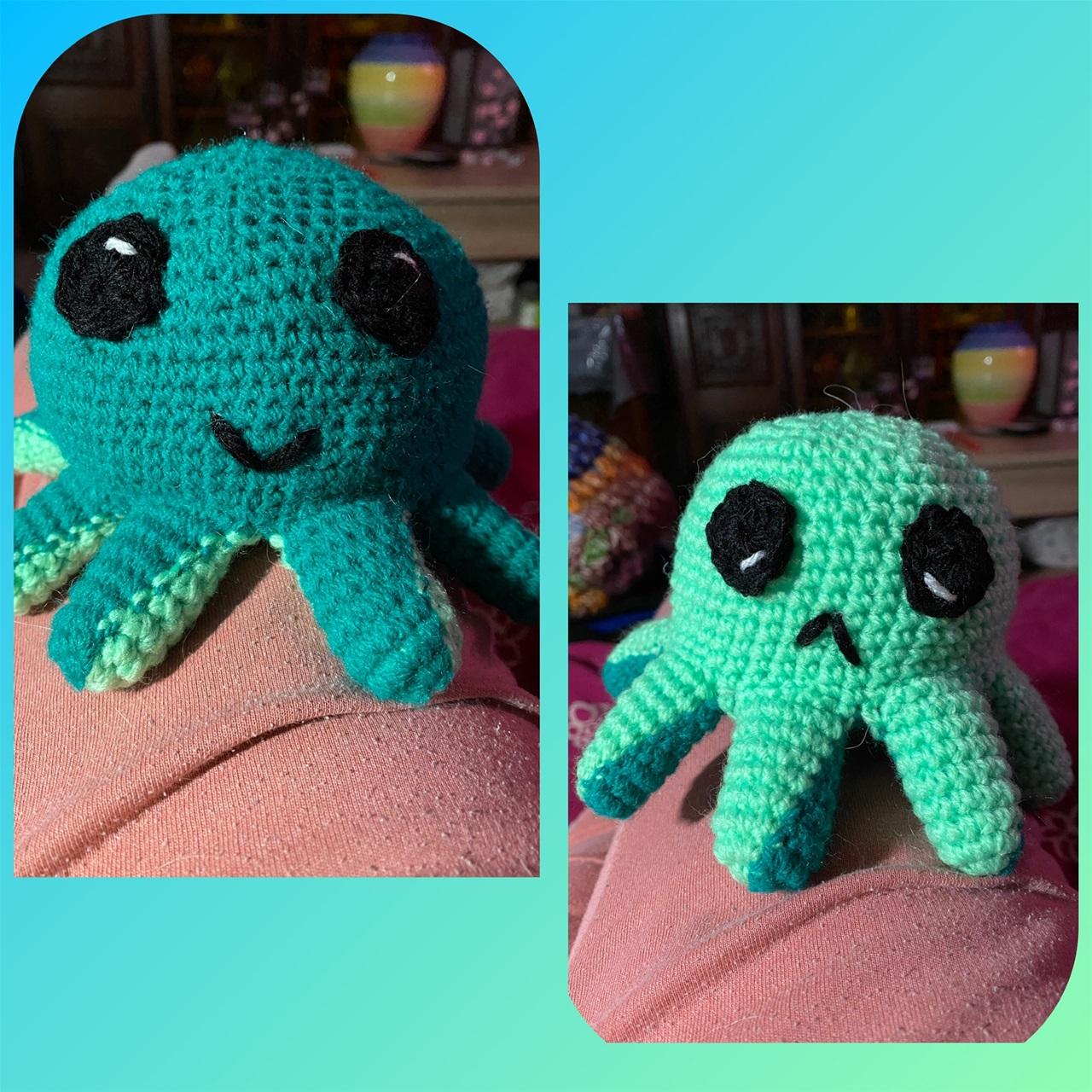 reversible crochet octopus tutorial 5