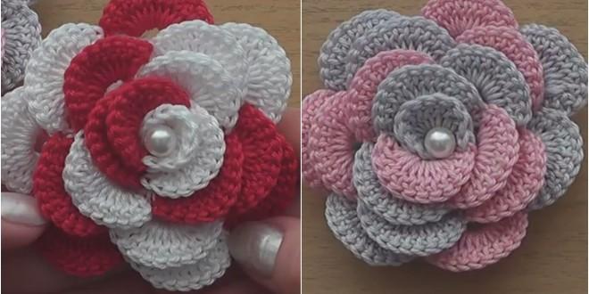 rose.flower crochet