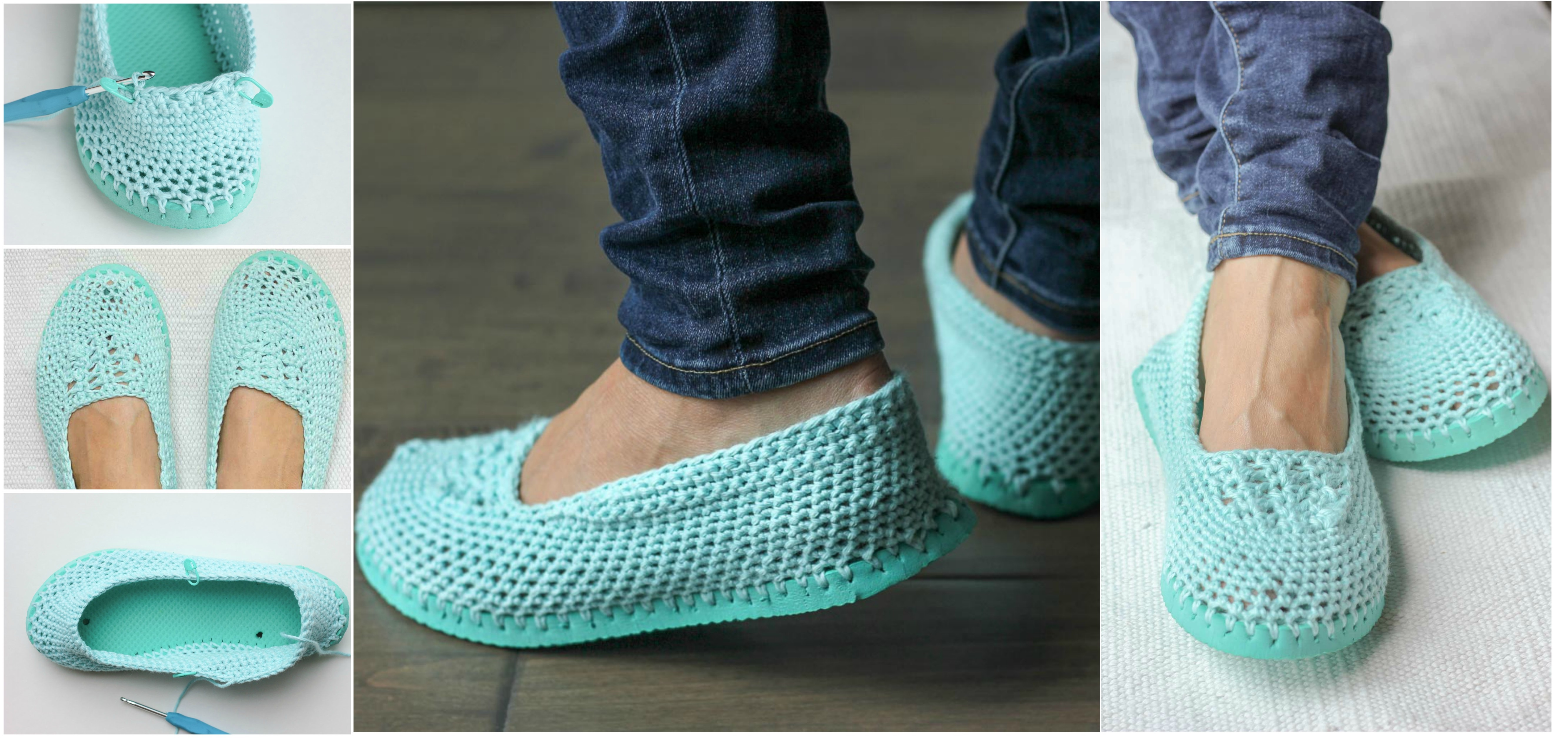Slippers With Flip Flop Soles-6557