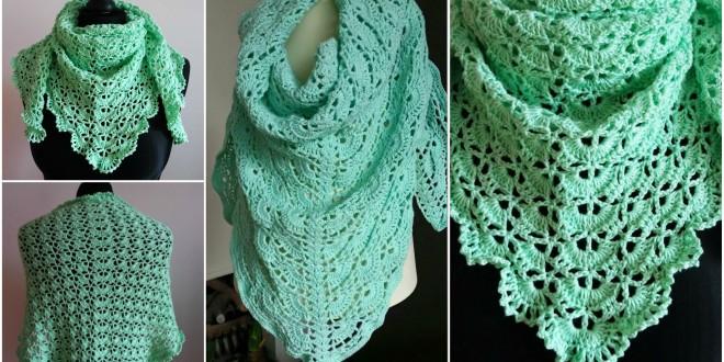 spring wrap shawl