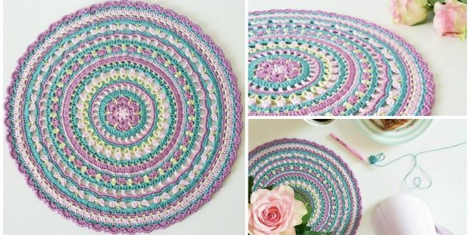 springtime mandala pattern