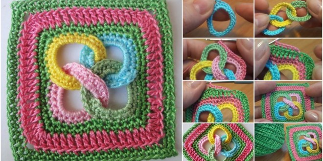 square motif rings