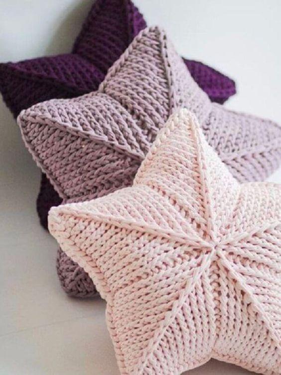 star pillow free knitting pattern 1