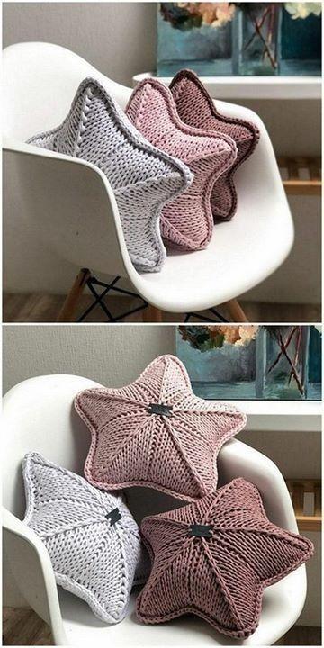 star pillow free knitting pattern 10