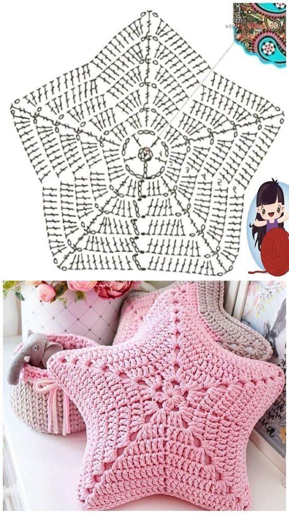 star pillow free knitting pattern 9