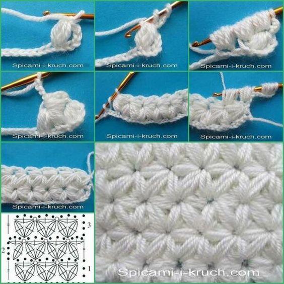 star stitch knitting pattern 6